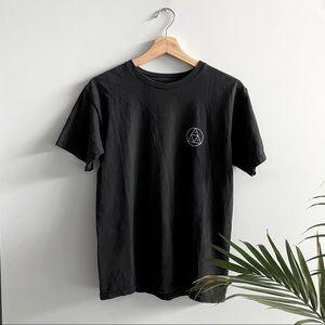 Black Huf Short Sleeve T-Shirt